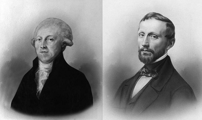 Heidsieck (left), the daring founder, and Piper, the passionate promoter.