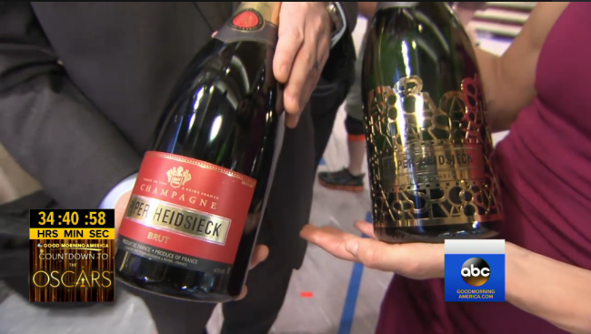 piper-heidsieck bottles on gma